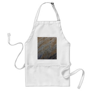 Wind aged sandstone with natural element patterns adult apron