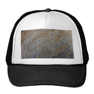Wind aged sandstone with natural element patterns trucker hats
