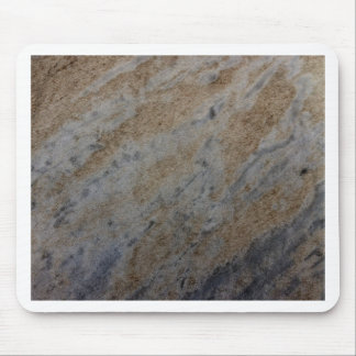 Wind aged sandstone with natural element patterns mouse pad