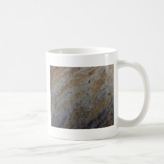 Wind aged sandstone with natural element patterns coffee mugs