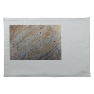 Wind aged sandstone with natural element patterns placemat