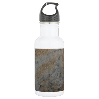 Wind aged sandstone with natural element patterns stainless steel water bottle