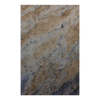 Wind aged sandstone with natural element patterns stationery paper