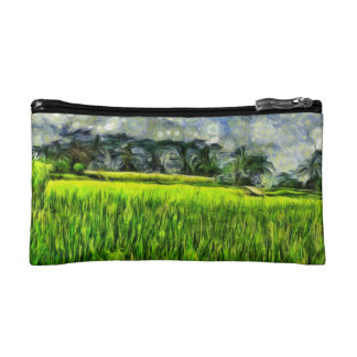 Wind and fields cosmetic bag