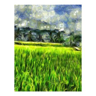 Wind and fields letterhead