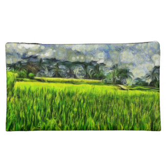 Wind and fields makeup bag