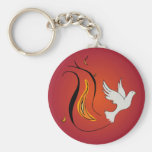 Wind and Fire Keychains