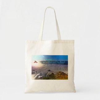 Wind and Sea Beach - San Diego, CA Tote Bag