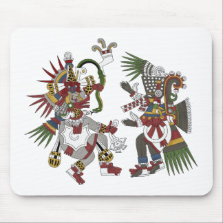 Wind And Smoking Mirror Mouse Pad