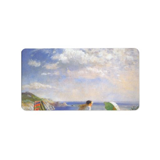 Wind and Sun by Dame Laura Knight Label