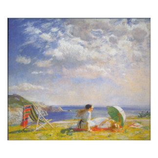 Wind and Sun by Dame Laura Knight Print