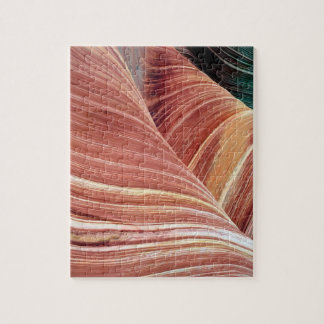 Wind and water eroded Navajo  sandstone in Jigsaw Puzzle