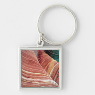 Wind and water eroded Navajo  sandstone in Keychain