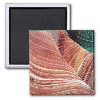 Wind and water eroded Navajo  sandstone in Magnet