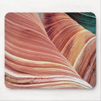 Wind and water eroded Navajo  sandstone in Mouse Pad