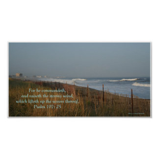 Wind and Waves Inspirational Poster