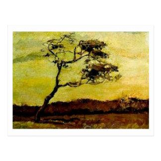 Wind-Beaten Tree, Vincent van Gogh Postcard