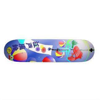 Wind bell (WIND CHIME) Skateboard Deck