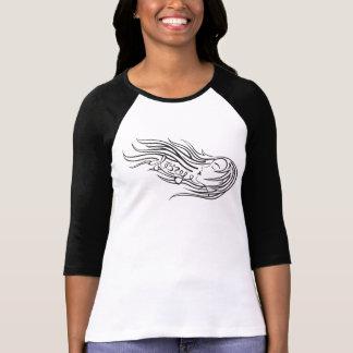 Wind Blown Hair Logo T-Shirt