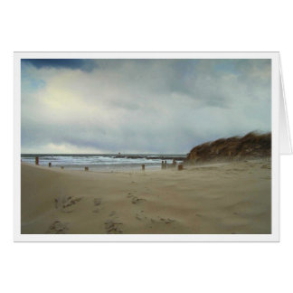 Wind Blown Sand Stationery Note Card