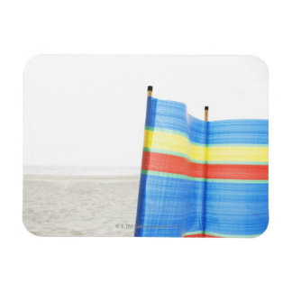 Wind Break on Beach Magnet