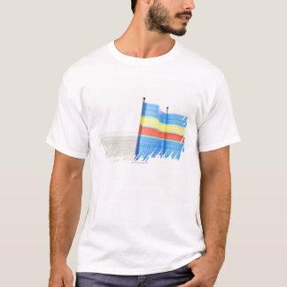 Wind Break on Beach T-Shirt
