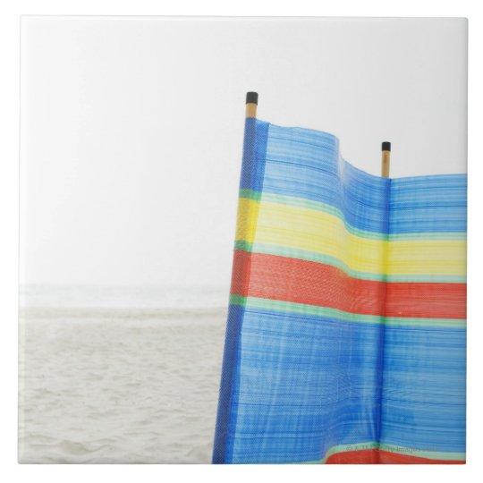 Wind Break on Beach Tile