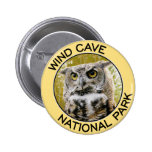 Wind Cave National Park 2 Inch Round Button