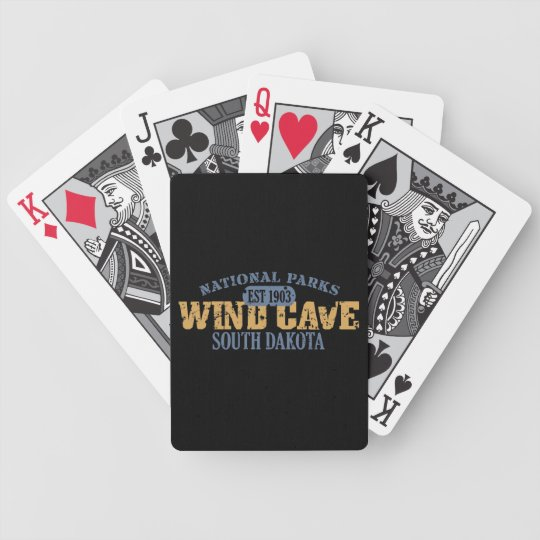 Wind Cave National Park Bicycle Playing Cards
