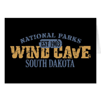 Wind Cave National Park Card