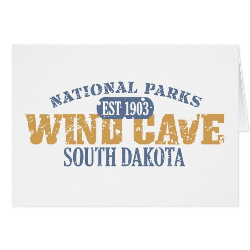 Wind Cave National Park Greeting Card