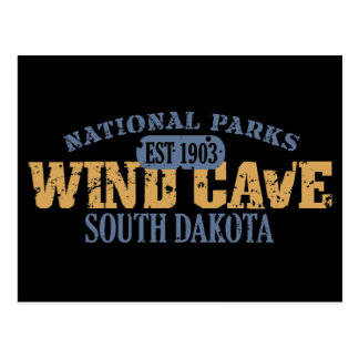 Wind Cave National Park Postcard