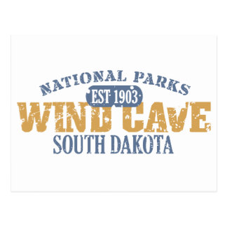 Wind Cave National Park Post Cards
