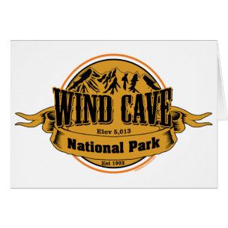 Wind Cave National Park, South Dakota Card