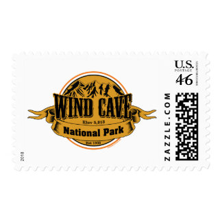 Wind Cave National Park, South Dakota Stamp