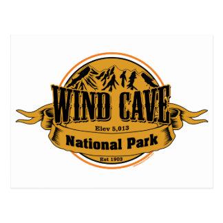 Wind Cave National Park, South Dakota Post Cards