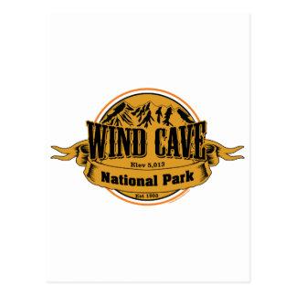 Wind Cave National Park, South Dakota Postcards
