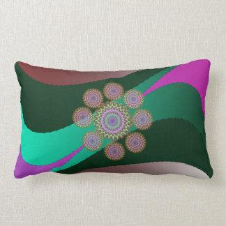 Wind Cotton Throw Lumbar Pillow