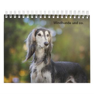 Wind dogs calendar