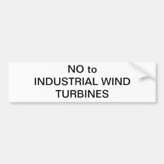 Wind Energy Bumper Sticker