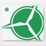 Wind Energy Mouse Pad