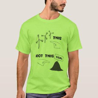 Wind Energy, Not Coal T-Shirt