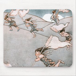 Wind Fairies Mouse Pad