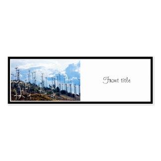 Wind Farm Business Card Templates