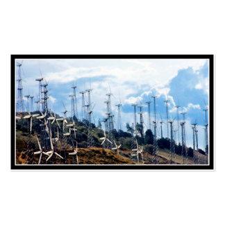 Wind Farm Business Card Template