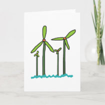 Wind Farm Card