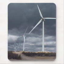 Wind Farm Mouse Pad