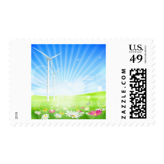 Wind Farm Postage