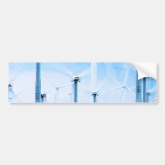 wind farms bumper sticker