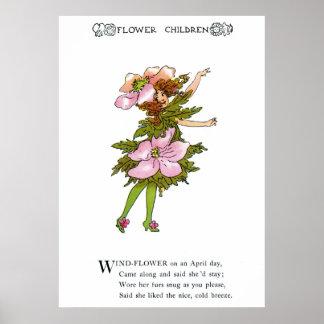 Wind-Flower Print